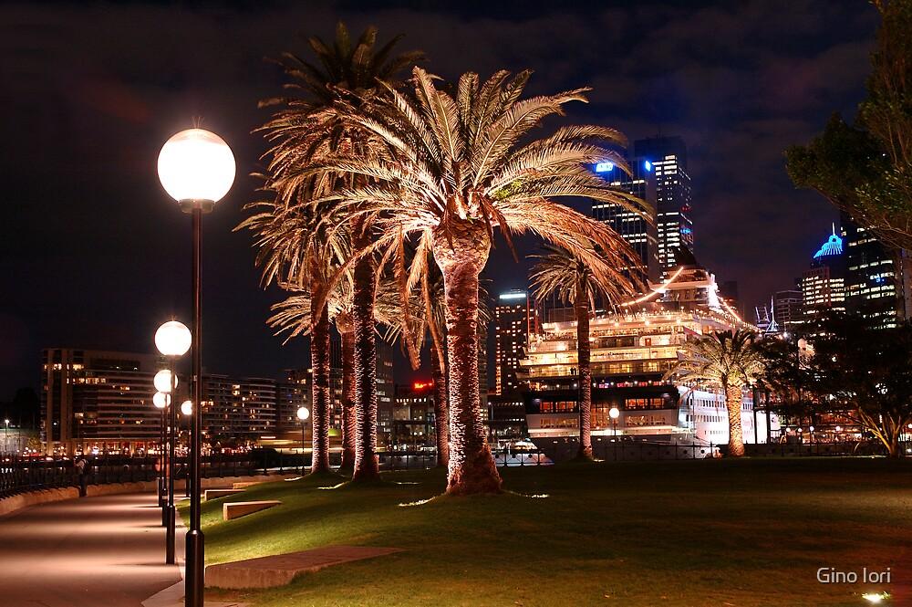 Palms & Lights by Gino Iori