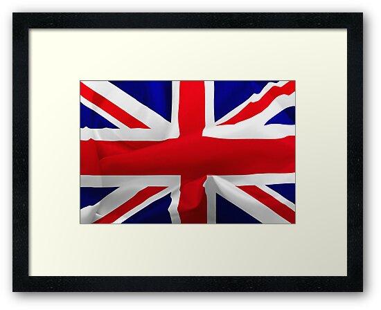 British Flag by Karin  Hildebrand Lau