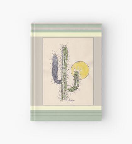 Cactus sunset Hardcover Journal