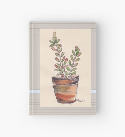 Sedum rubrotinctum - Jelly beans Hardcover Journal