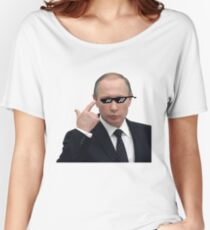 Putin - Deal with it Women's Relaxed Fit T-Shirt