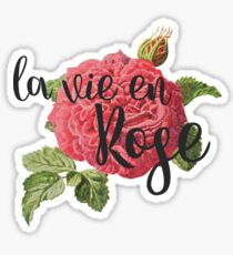 La Vie En Rose Sticker