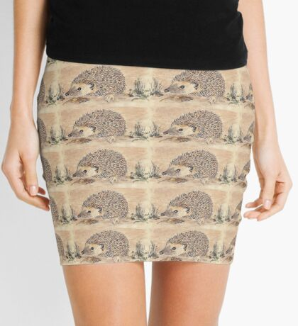 Hedgie, the African Hedgehog Mini Skirt