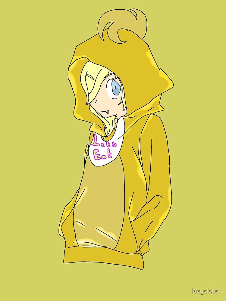 Toy Chica In Old Chica Hoodie by lazycloud