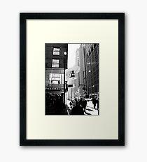 1C Framed Print