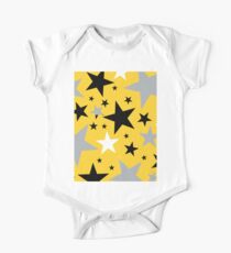 yellow stars One Piece - Short Sleeve