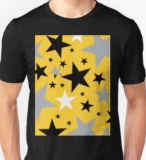 yellow stars Unisex T-Shirt