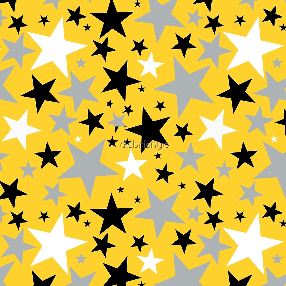 yellow stars by debrisnyc