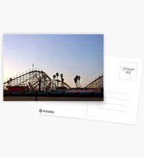 Big Dipper, Santa Cruz Beach Boardwalk, California Postcards