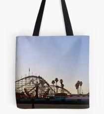 Big Dipper, Santa Cruz Beach Boardwalk, California Tote Bag