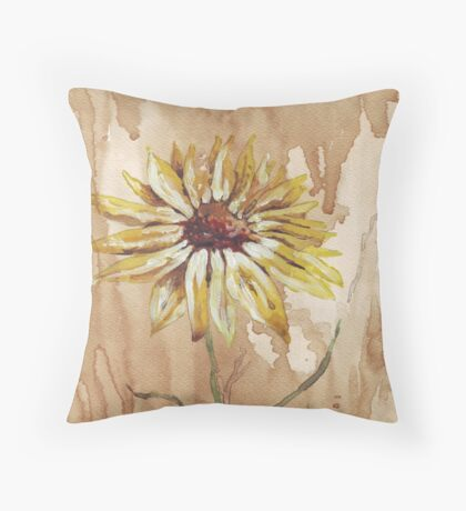 Helianthus (sunflower) Throw Pillow