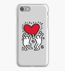 Keith Haring Dancing Heart iPhone Case/Skin