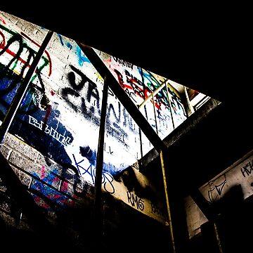 Graffiti Stairs by laurenbull16