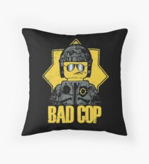 Lego Movie Bad Cop Throw Pillow