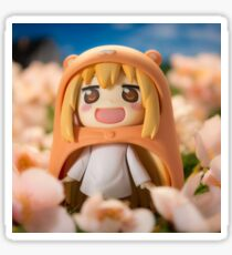 Umaru-Chan in spring with cherry blossoms Sticker