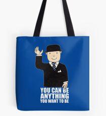 MR BENN KIDS CHILDRENS CULT TV 70'S 80'S RETRO CARTOON BBC SLOGAN FUNNY Tote Bag
