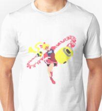 Ribbon Girl Blocky Unisex T-Shirt