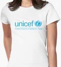 unicef Womens Fitted T-Shirt