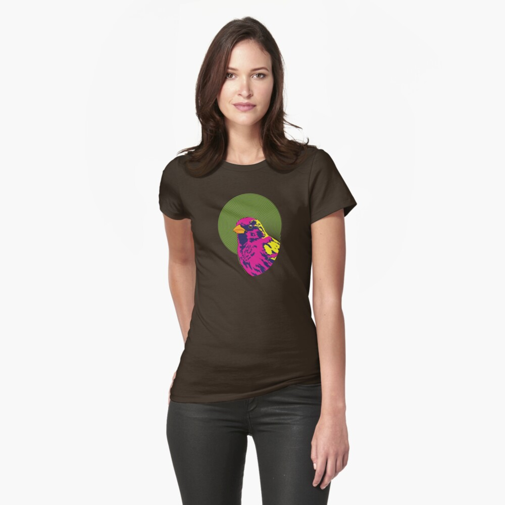 Sparrow Spectrum Fitted T-Shirt