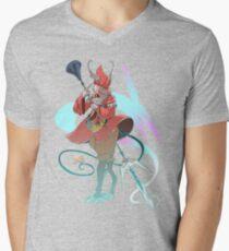 Camiseta de cuello en V .: Ali del vento :.