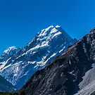 Mt. Cook from the Aoraki National Park, New Zealand #3 by Elaine Teague