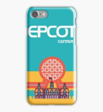 EPCOT Center iPhone Case/Skin