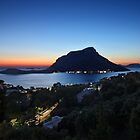 Kalymnos - Telendos after sunset by Hercules Milas