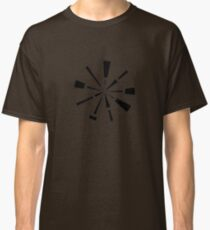 Mandala 6 Back In Black Classic T-Shirt