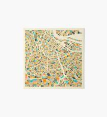 AMSTERDAM MAP Art Board