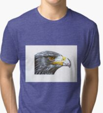 Eagle on the Alert Tri-blend T-Shirt