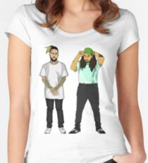 Suicide boys Women's Fitted Scoop T-Shirt