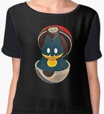 Munchlax - Pokemon Chiffon Top
