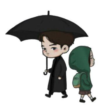 under the umbrella by terrymedan