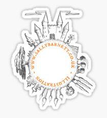Sally Barnett logo Sticker