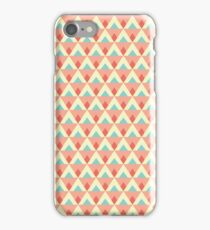 Triangles and diamonds iPhone Case/Skin