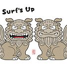 Surf's Up Shisa  by 73553