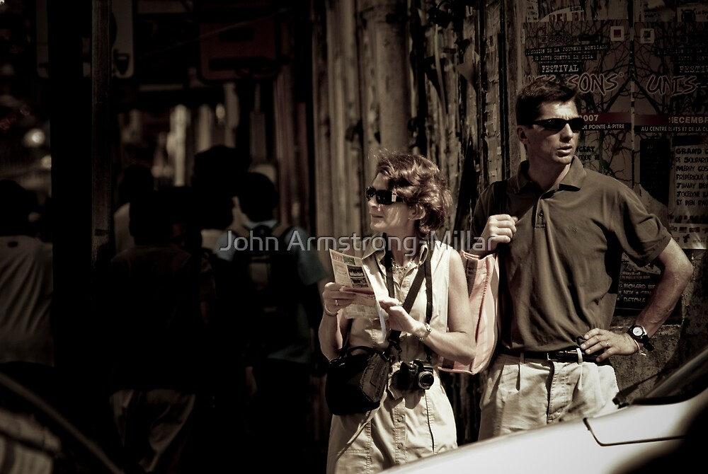 The Tourists by John Armstrong-Millar