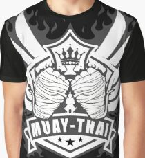 Muay Thai Wings of Winner-Thailand Martial Art Tshirt 2 color Graphic T-Shirt