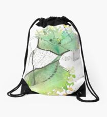 Käfer - Aquarell Drawstring Bag