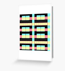 GRAPHIC #Nerd # disc 03 floppy disk Greeting Card