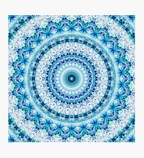 Bouncing Off Of Clouds Kaleidoscope  Photographic Print