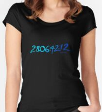 Donnie Darko 28:06:42:12 Women's Fitted Scoop T-Shirt