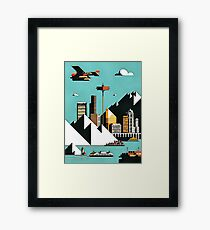 mount city Framed Print