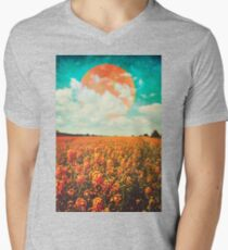 Rising Mens V-Neck T-Shirt