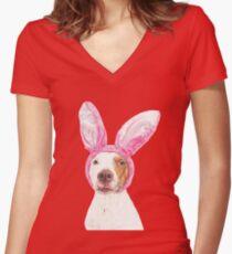 Ohlin Women's Fitted V-Neck T-Shirt