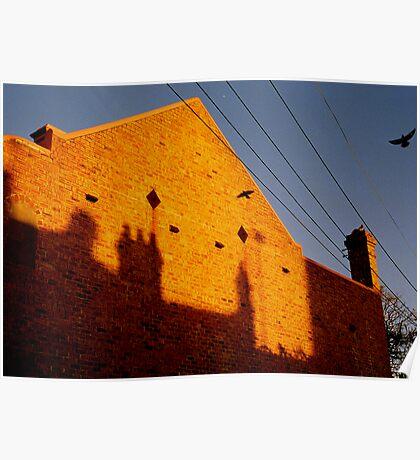bricks n' bird Poster