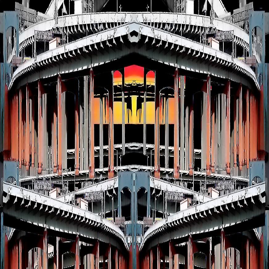 RHYTHMIC STEEL by EDWARD J. MICHALEC by GOONEY