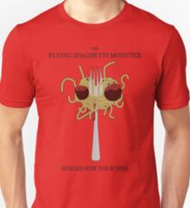Flying Spaghetti Monster's Crucifixion Unisex T-Shirt