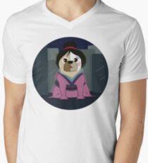 Puglan Mens V-Neck T-Shirt