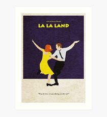 La La Land Alternative Minimalist Poster Art Print